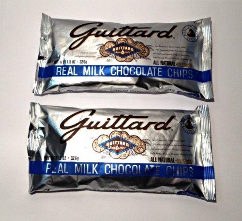 Guittard Choc Chip Mlk Choc Maxi - Pack of 2