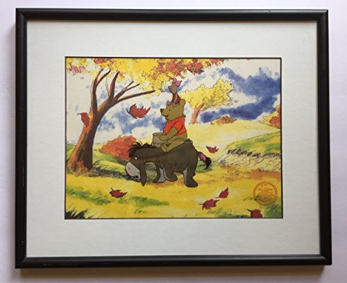 Winnie the Pooh and the Blustery Day; Walt Disney Limited Edition Animation Serigraph Cel, Framed (Limited Pooh Edition)