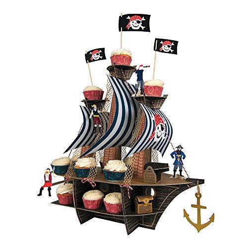 Meri Meri Ahoy There Pirate Ship Centerpiece -