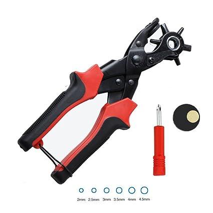 Amazon.com: Perforadora de cinturón, resistente, fácil de ...