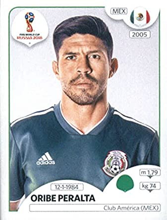 ca70b9625ef 2018 Panini World Cup Stickers Russia #471 Oribe Peralta Mexico Soccer  Sticker