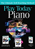 Hal Leonard 702997 Play Piano Today Complete Kit with Method Book/CD Songbook/CD and DVD - Box-Hang Tab