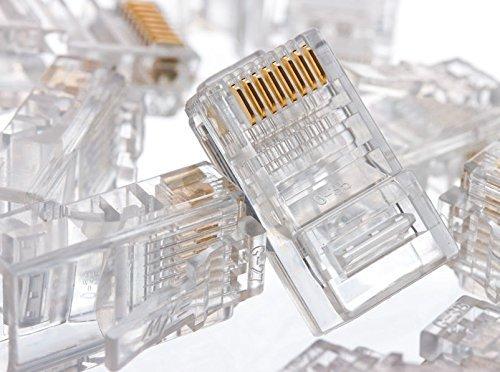UbiGear Cable Tester +Crimp Crimper +100 RJ45 CAT5 CAT5e Connector Plug Network Tool Kits (Crimper315) by UbiGear (Image #6)