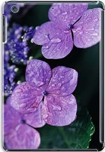 Apple iPad Mini Retina 3D Cases, Apple iPad Mini Retina 3D Case Hard Shell Cover Cases Lilac Hydrangea Flower