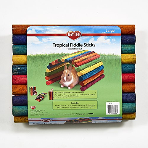Kaytee Tropical Fiddle Sticks Flexible Hideout - Large by Kaytee (Image #3)