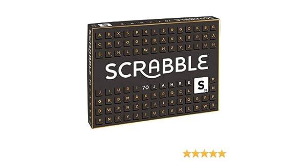 Scrabble 70 anniversary game: Amazon.es: Juguetes y juegos