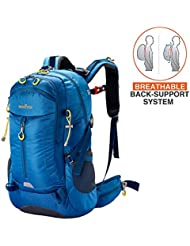MOOITEK Hiking Backpack 50L, Comfortable Detachable Back-Support System, Weekend Pack Water Resistant Rain Cover...