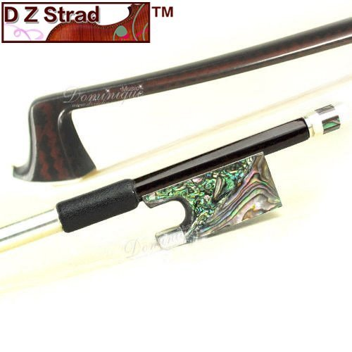 Master Carbon Fiber 4/4 Violin Bow with Abalone Frog-D Z Strad Full Size [並行輸入品] B07C9H9FDD