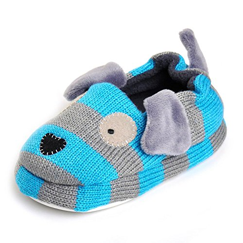 Pictures of Enteer Baby Boys' Doggy Slipper Blue 1