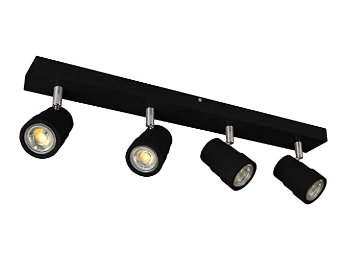 LED Lámpara de techo ledwa60 X 7 - 4000 K de wengué de ...