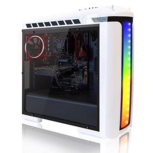 [Oculus Ready] SkyTech Azure 1060 Extreme FX-6350 3.90 GHz 6-Core, GTX 1060 3GB, 8GB DDR3, 1TB HDD, Wi-Fi USB, Windows 10 Pro 64-bit, White