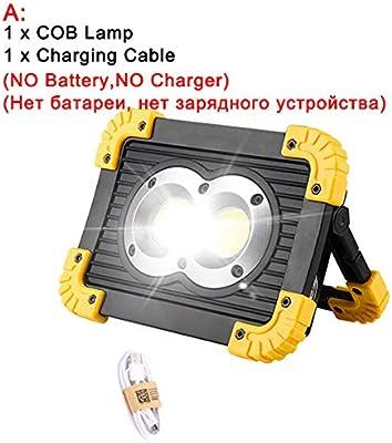 Proyector portátil Linterna 2 Tamaño Usb Lámpara de trabajo ...
