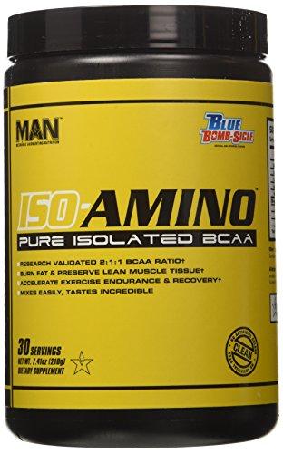 Man Sports Iso-Amino Blue Bombsicle 30/S