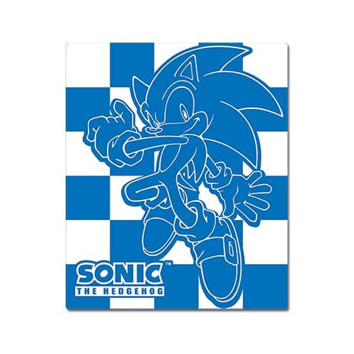 Great Eastern Sonic the Hedgehog: Sonic Throw Blanket