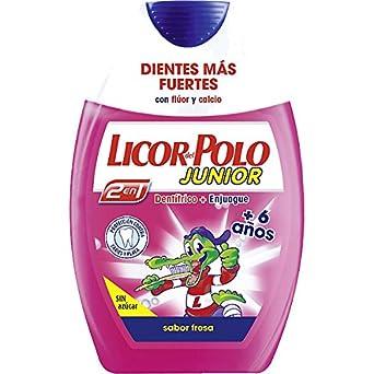 Licor Del Polo Dentífrico L.Polo 2 En 1 Junior Fre. - 1 unidad ...