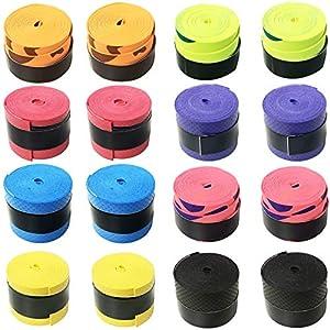 גריפים במגוון צבעים למחבטי טניס