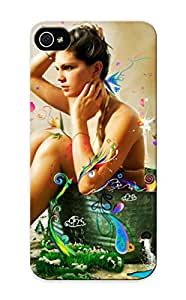 Iphone 5/5s Ikey Case Cover Skin : Premium High Quality Colored Girl In Water Case(nice Choice For New Year's Day's Gift)