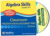 NewPath Learning Algebra Skills Interactive Whiteboard CD-ROM, Site License, Grade 6-10