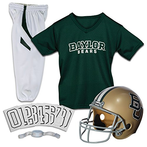 Franklin Sports NCAA Baylor Bears Youth Deluxe Team Uniform Set, Multi, Medium -