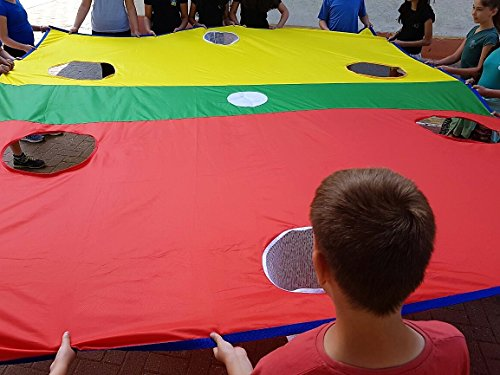 Merav Asher\'s \'rugby touch down\' tarp parachute - physical education ...