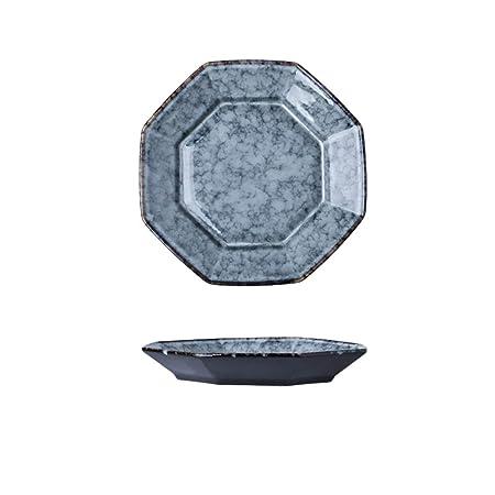 Placa octogonal, Restaurante de cerámica Placa doméstica ...