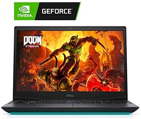 2020 Dell Gaming G5 15.6″ FHD Laptop Computer, 10th Gen Intel Core i5-10300H, 16GB RAM, 1TB SSD, Backlit Keyboard, GeForce GTX 1660 Ti, Webcam, HDMI, USB-C, Windows 10, Black, 32GB Snow Bell USB Card 51piWE4L 2BSL