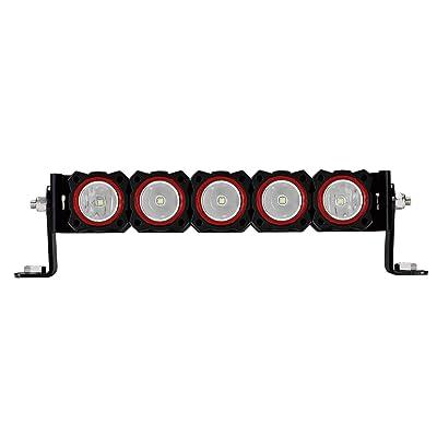 KC HiLiTES 30564 FLEX Red Bezel Ring (5 Pack): Automotive