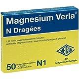 Magnesium Verla N Dragees, 50 St.