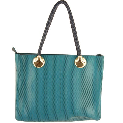 Silver Fever - Synthetic Fabric Bag Women - Blue