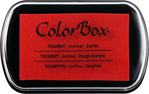 CLEARSNAP ColorBox Pigment Inkpad, Scarlet