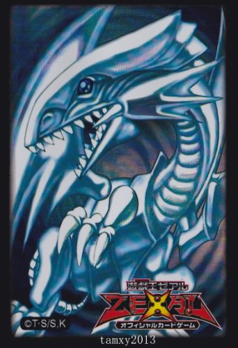 Yu Gi Oh Blue Eyes White Dragon Sleeves