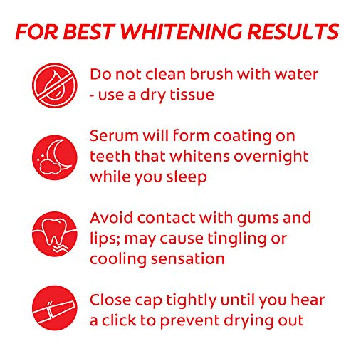 Colgate Optic White Overnight Teeth Whitening Pen, Gentle Teeth Stain Remover to Whiten Teeth, 3% Hydrogen Peroxide Gel…