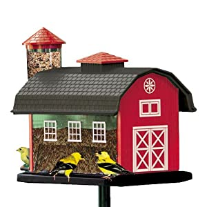 6290 Red Barn Combo Bird Feeder SALE