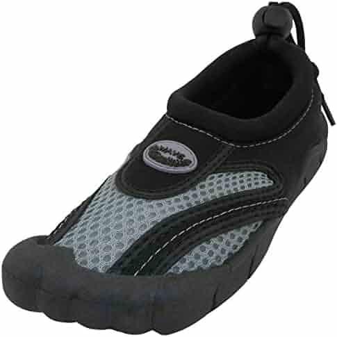 a6948db2043cca Cambridge Select Men's Quick Dry Mesh Slip-On Drawstring Non-Slip Toe Water  Shoe