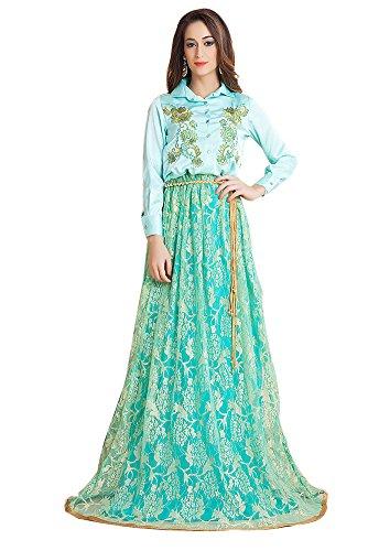 PalasFashion - Robe - Femme turquoise turquoise