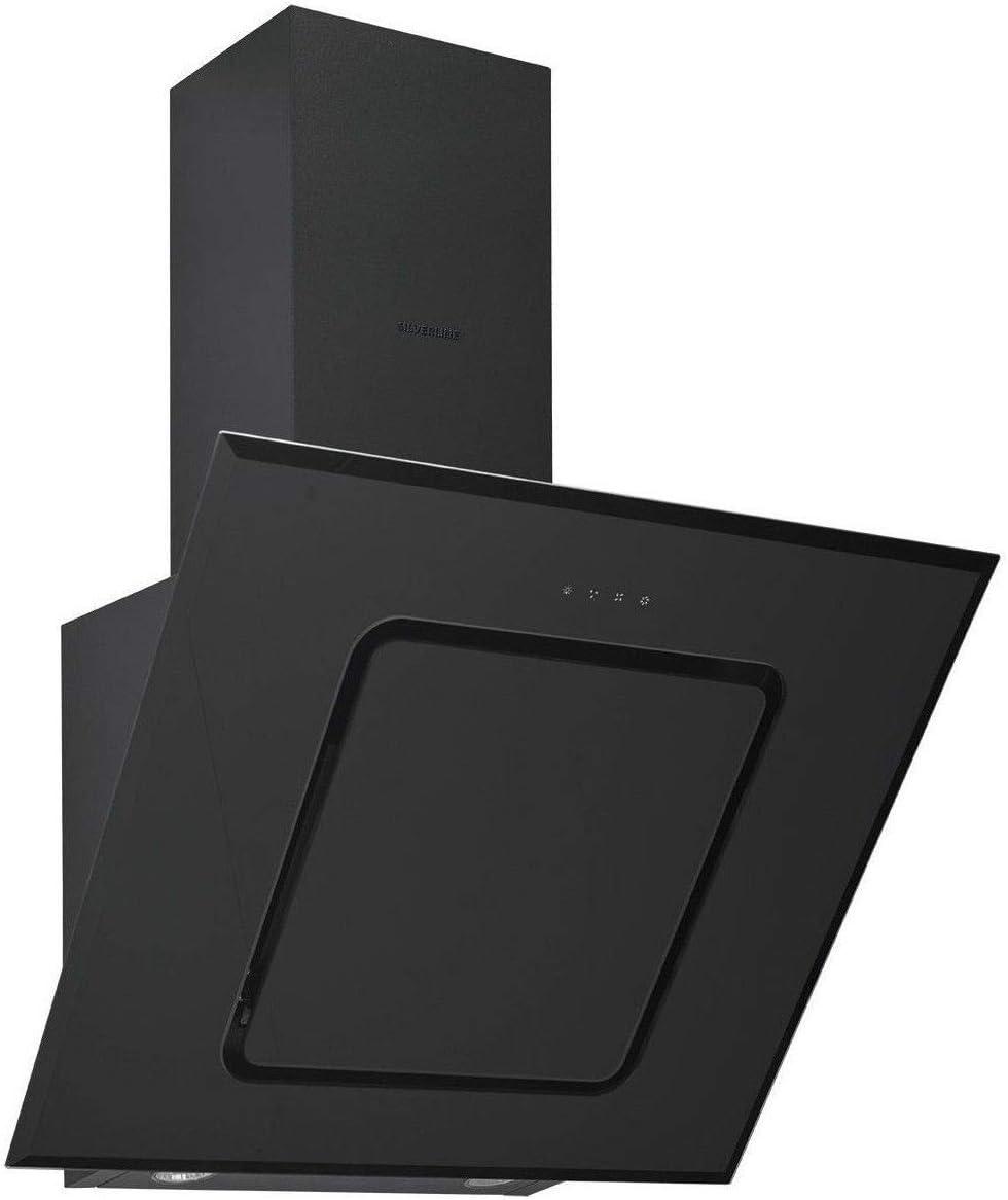 Campana decorativa de pared Beko HCA62540B – Campana extractora Pan inclinada – Ancho 60 cm – Caudal máximo de aire (en m3/h): 537 – Nivel de ruido Decibel Mini/Maxi. (en dBA): – / 71: Amazon.es: Grandes electrodomésticos