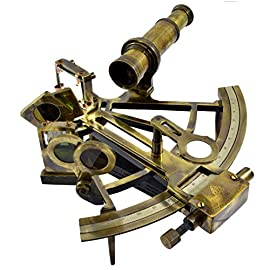 NAVIGATE WITH A SEXTANT AND/OR USE AS DECOR