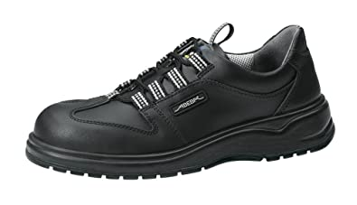 Abeba - Calzado de Protección para Hombre Negro Negro 42 O5eoGK