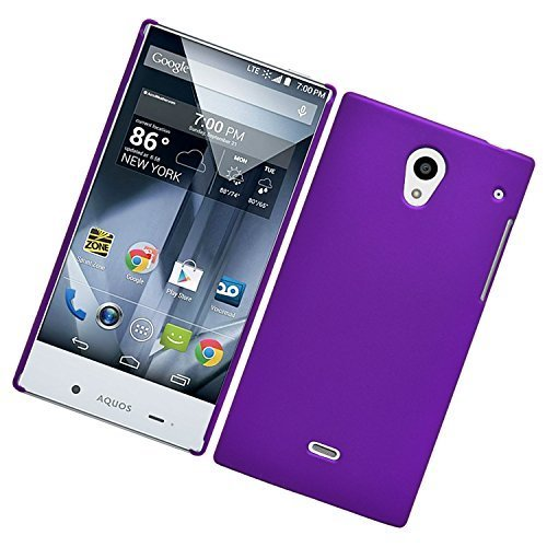sharp aquos crystal purple case - 2