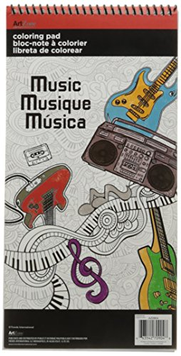 - Trends International  Music Mini Coloring Poster Pad