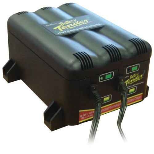 (BATTERY TENDER 022-0165-DL-WH 2-Bank Charger)