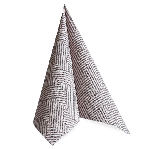 Linen-like Paper Disposable Napkins, 50 Pack, Premium Quality, looks and feels like Cloth, Royal Collection,