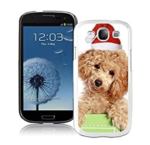 2014 Latest Cute Christmas Cat Dog White TPU Samsung Galaxy S3 Case,Case For Samsung I9300