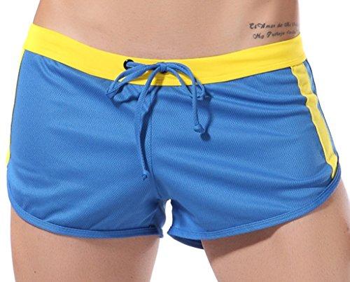 DESMIIT Men's Jogging Sports Loose Boxer Shorts