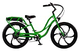 "Pedego Interceptor 26"" Step Thru Lime Green with Mag Wheels 48V 15Ah"
