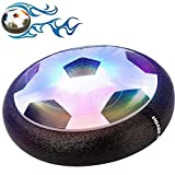 Buself Hover Toy Football, Amazing LED Flashing Hover Toy Football with Substantial, Non-Marking Soft, Foam Bumper for Birthday/Christmas/Halloween/Visit Gift.