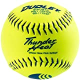 Dudley USSSA Thunder Heat Classic W Stamp Softball - Synthetic Cover - 12 pack