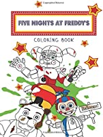 Five Nights At Freddy's Coloring Book: FNaF JUMBO