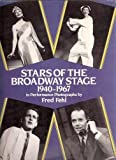 Stars of the Broadway Stage, 1940-1970, Fred Fehl, 0486243982