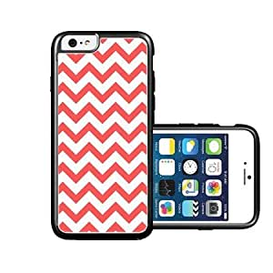 RCGrafix Brand Coral Chevron iPhone 6 Case - Fits NEW Apple iPhone 6